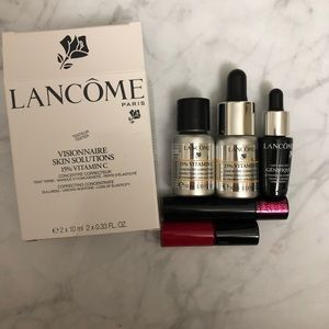 LANCÔME SKINCARE MAKEUP BUNDLE!